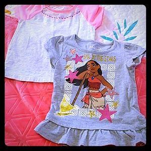 ⚜️2 girls size 3 T tee shirts